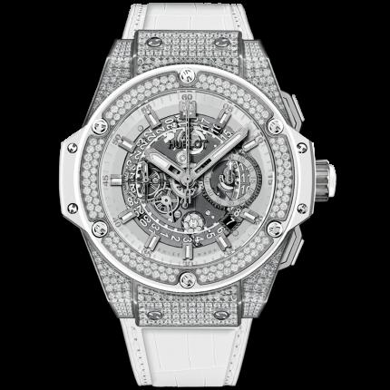 Hublot King Power titanium White Pave 701.NE.0127.GR.1704
