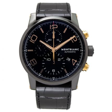 Montblanc TimeWalker Dual Carbon Chronograph 105805 | Watches of Mayfair