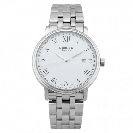 112610 | Montblanc Tradition Date 40 mm watch. Buy Online