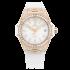 465.OE.2080.RW.1604   Hublot Big Bang One Click King Gold White Pave 39mm watch.